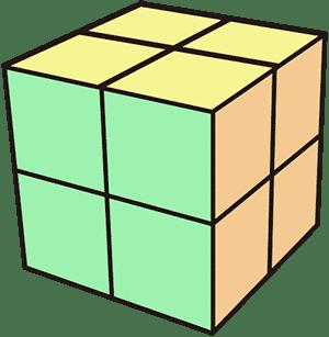 2x2魔術方塊
