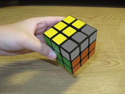 魔術方塊 雙公式盲解 邊塊限制