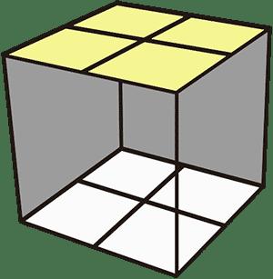 2x2魔術方塊Ortega-頂面