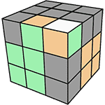 魔術方塊速解公式 F2L 18