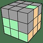 魔術方塊速解公式 F2L 25