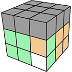 魔術方塊速解公式 F2L 40