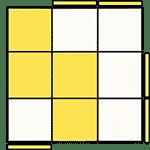 魔術方塊速解公式 OLL 08
