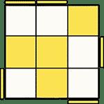 魔術方塊速解公式 OLL 10