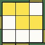 魔術方塊速解公式 OLL 12