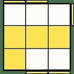 魔術方塊速解公式 OLL 13