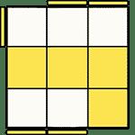 魔術方塊速解公式 OLL 14