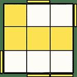 魔術方塊速解公式 OLL 15