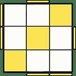 魔術方塊速解公式 OLL 17
