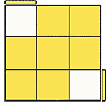 魔術方塊速解公式 OLL 25