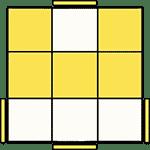 魔術方塊速解公式 OLL 34