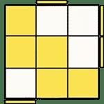 魔術方塊速解公式 OLL 36