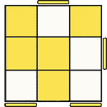 魔術方塊速解公式 OLL 42