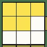 魔術方塊速解公式 OLL 43
