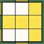 魔術方塊速解公式 OLL 45