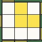 魔術方塊速解公式 OLL 47