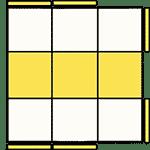 魔術方塊速解公式 OLL 51