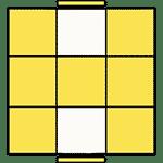 魔術方塊速解公式 OLL 57
