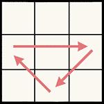 魔術方塊速解公式 PLL U(b)-perm