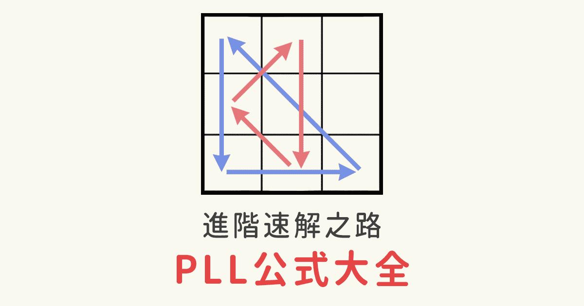 ft. 大神 魔術方塊PLL公式 CFOP