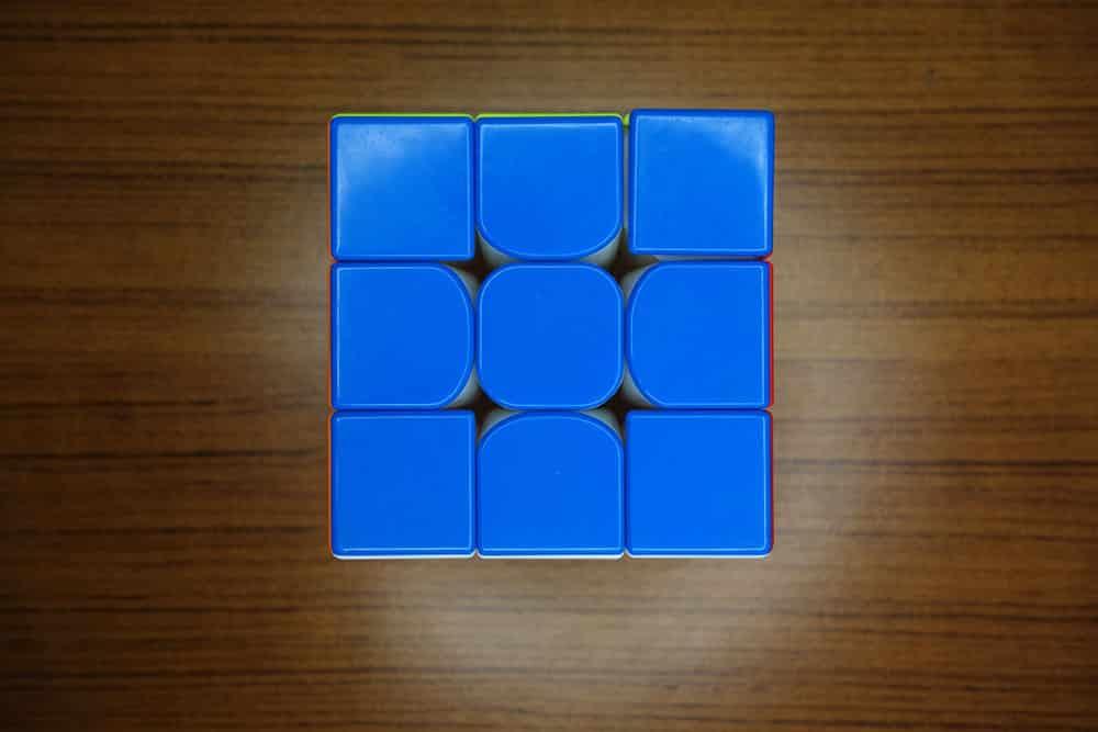 藍色面悲劇圖(右上角)