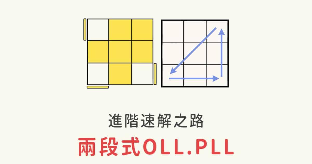 魔術方塊速解 兩段式OLL/PLL