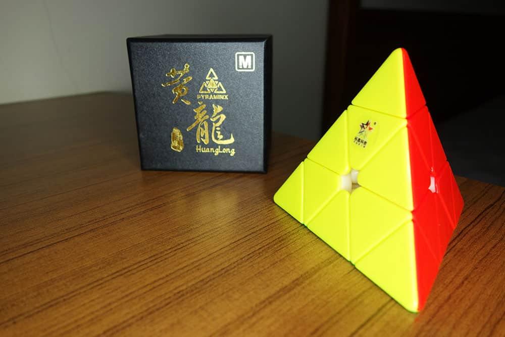 裕鑫 黃龍 金字塔 魔術方塊評測開箱