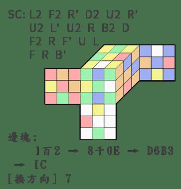 魔術方塊盲解 - 英數混合系統