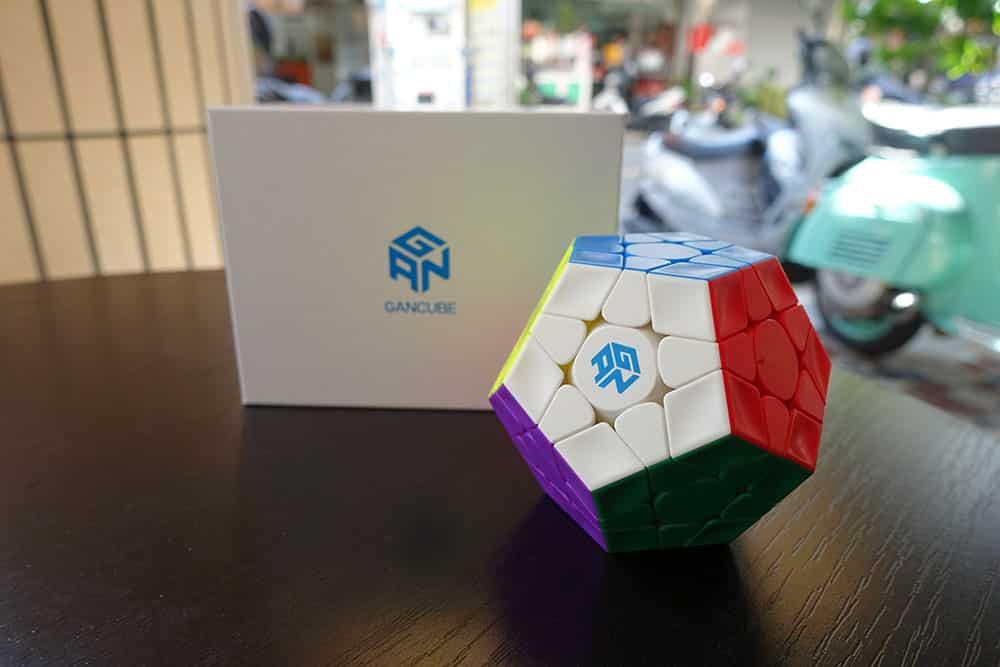GAN Megaminx 魔術方塊評測開箱