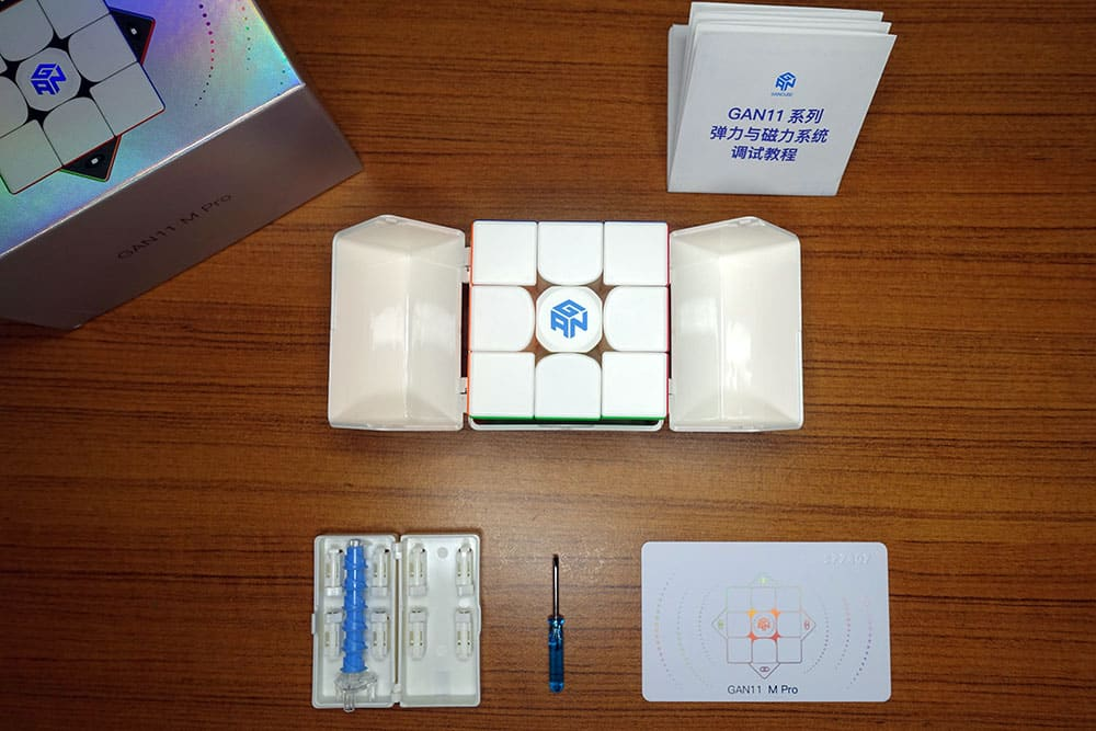 Gan 11 M Pro 魔術方塊評測開箱