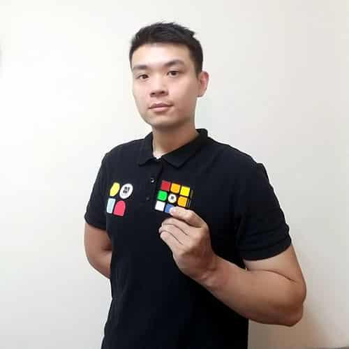 魔術方塊基礎課程教學老師-陳俊翰