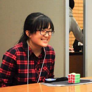 魔術方塊基礎課程教學老師-張舜欣