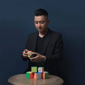 魔術方塊基礎課程教學老師-蔡岳霖