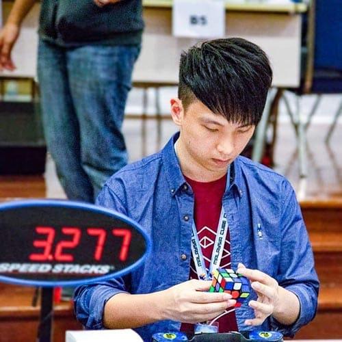 魔術方塊基礎課程教學老師-王俊文