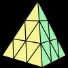 金字塔魔術方塊 正方形